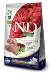 N&D Grain Free Quinoa Dog Weight Management Lamb&Broccoli 2,5kg