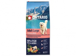 ONTARIO Adult Large Fish & Rice