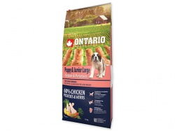 ONTARIO Junior Large Breed Chicken&Potatoes
