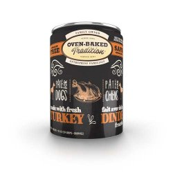 Oven-Baked Pate Turkey Adult Dog 354g