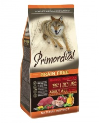 Primordial Grain Free Adult Buffalo & Mackerele