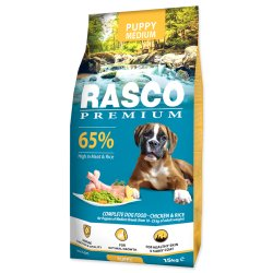 Rasco Premium Dog Puppy Medium 15kg