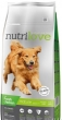 Nutrilove Dog Mature fresh kuřecí