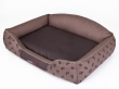 Pelech Royal Dog Bed hnědý Tlapka