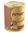 PETKULT Dog konzerva Adult Chicken